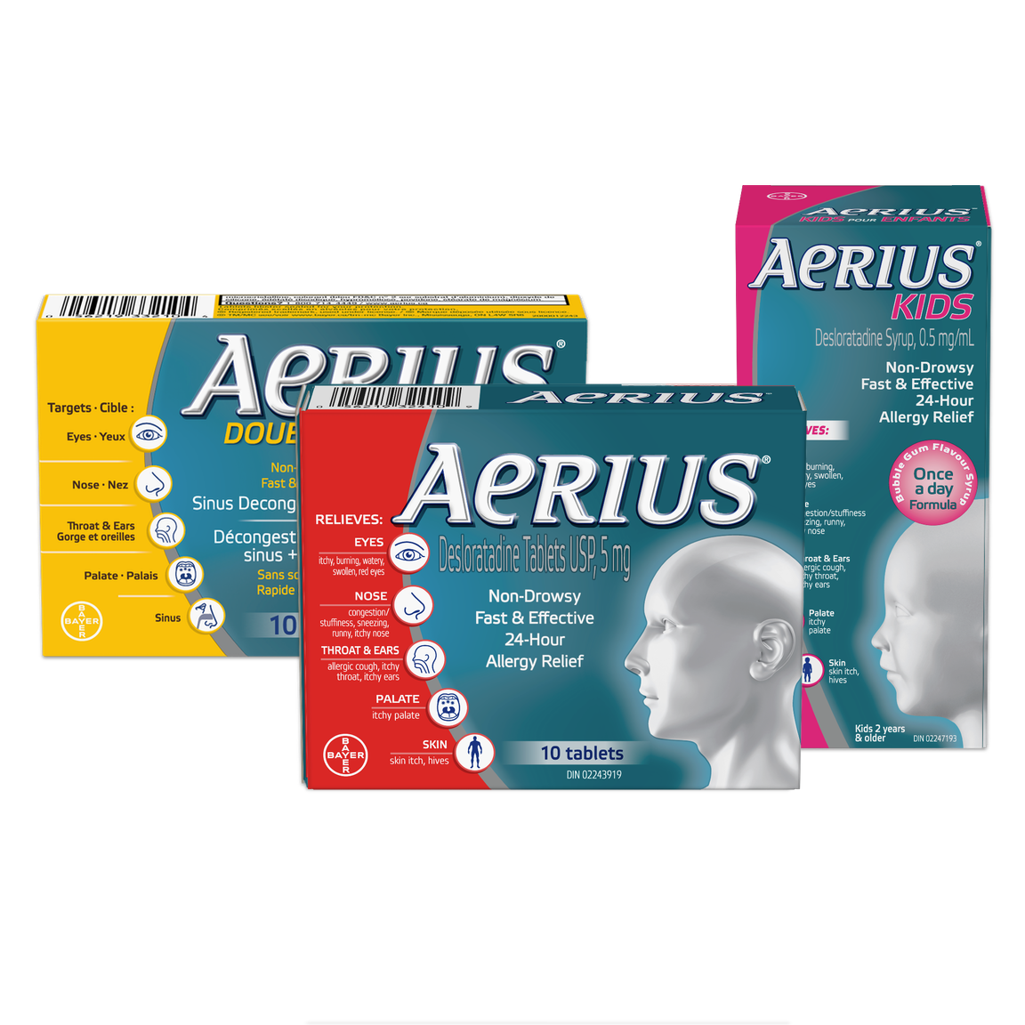 AERIUS – Find a Product